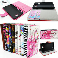 Book Flip Leather Wallet Pocket Phone Case Cover Stand For LG iPhone Samsung