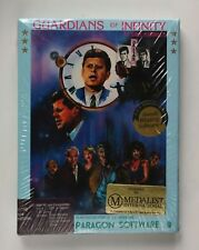 Guardians of Infinity To Save Kennedy IBM PC Strategy Text Game BRAND NEW IN BOX