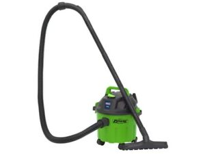 SEALEY Vacuum Cleaner Wet & Dry 10ltre 1000W / 230V BRIGHT Green