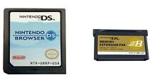 Nintendo Browser w/Memory Expansion Pak for DS & DS Lite **US SELLER**