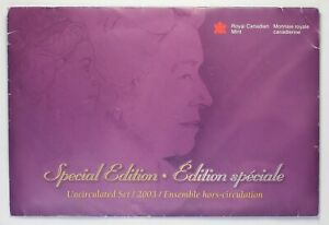 Canada 2003 WP - Special Edition - Mint Set - New Uncrowned Effigy