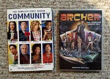 Community Season 1 (4 DVD) & Archer Season 1 (2 DVD)