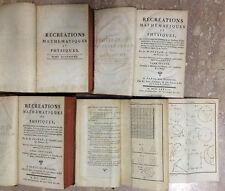 Récréations mathématiques et physiques. Oznam, Parigi, Jombert 1778