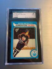 1979-80 Topps Wayne Gretzky Rookie card #18 SGC 4