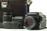 【Near Mint】 Mamiya M645 w/Sekor C 80mm f/2.8 & 150mm f/4 Lens Waist Level Finder