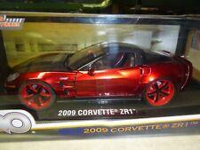 1/18 DIE CAST   2009 CORVETTE ZR-1    JADA LOPRO SERIES