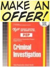 New Criminal Investigation Test Practice Passbook (Upcoming Exam) FREESHIP