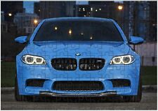 BMW M5 Sports Car A4 JIGSAW Puzzle Birthday Christmas Gift (Can Be Personalised)