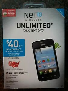 "NET 10 WIRELESS LG OPTIMUS FUEL ANDROID 3.5"" TOUCHSCREEN - BRAND NEW"