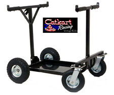 NEW RLV RACING GO KART SUPER HEAVY DUTY ROLLING STAND FOLDING CART COLLAPSABLE