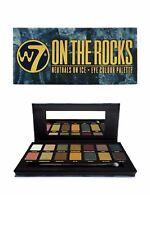W7 Eye Shadow Palette on The Rocks 14 Great Shades in One Pallette