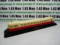MEA23R MICHELINES & Autorails train SNCF 1/87 HO  : XABDP 52103 Decauville 1945
