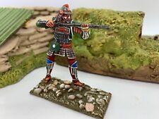 St. Petersburg Japanese Samurai w/ gun, foot green Soldier 54mm 1/32  Russia