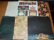 NEW Creative Imaginations/Frances Meyer/Wordsworth Scrapbook Paper Sheets (6)