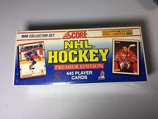 Score NHL 1990 Hockey Premier Edition Cards - 445 Cards - Sealed