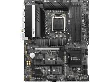 MSI Z590 PRO WIFI LGA 1200 Intel Z590 SATA 6Gb/s ATX Intel Motherboard
