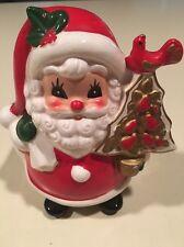 Napco Santa Planter Or Candy Cane Holder