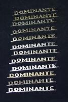 1x Dominante original Emblem Typenschild Schriftzug Radio vintage