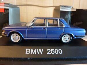 BMW 2500 SCHUCO 1:43  BLEU METAL