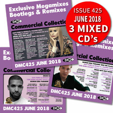 DMC Commercial Collection 425 Triple DJ Mixed Music CD Ft Motown Stars Megamix