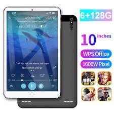 "10"" Ultra-thin 4G 6+128GB Tablet PC Android 9.0 WIFI Dual SIM Triple Camera"