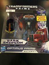 Transformers Prime Dark Energon Voyager Megatron Optimus Prime Sealed Misb