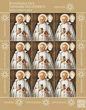 MNH ** POLAND 2016 Fi 4690 FS - Canonization of Father Stanisław Papczyński