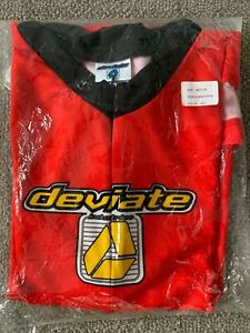 Red Deviate Mountain Bike jersey Long Sleeve size Medium New in Package