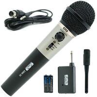 EMB Professional Handheld Wireless Microphone W/ Echo   For Church Home Karaoke
