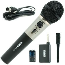 EMB Professional Handheld Wireless Microphone W/ Echo   For Church Home Karaoke