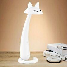 Fox shape Led Desk Lamp With Dim Light for Children/ kids, White