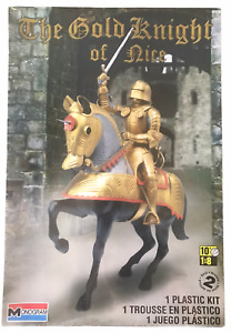 Gold Knight of Nice Plastic Model Kit NEW Factory Sealed 2011 Golden Night&Horse