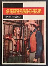 Vintage 1958 Topps GUNSMOKE card #13 HAPPY PRISONER- Set break combined ship