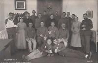 AK München, Nymphenburg, Verwundete Krieger im Krankenhaus Dritter Orden 1915,
