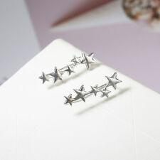 Star Stud Earrings Ear Climber Cuff Earrings Ear Crawler Fashion Jewelry Gifts