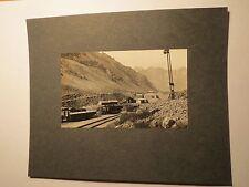 Chili-Juncal-MONTAGNE avec chemin de fer/photo