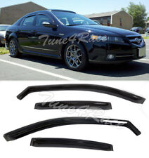 For 04-08 Acura TL In-channel style Side Window Visors Rain Guards JDM