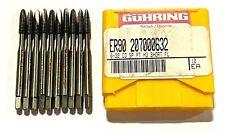 Guhring 6 32 Cobalt Tap Spiral Point Plug Tap Short Flute 2fl H3 10 Pack