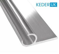 Campervan Motorhome Caravan Awning Rail C Channel  3 x 1m Strips with D/S Tape
