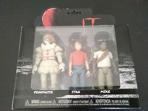 Horror Action Figure IT Pennywise 3 Pack By Funko Very Cool For The Collector...