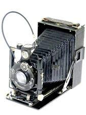 Voigtländer compur 1:4,5 f = 13,5cm plegable placas zurran cámara