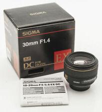 Sigma EX Nikon AF-Anschluss