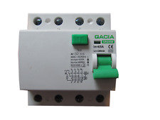 Fehlerstromschutzschalter GACIA SR6HM 4P 63A/100mA AC  FI Schalter