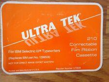 IBM Selectric IIl Typewriter 210 Correctable Film Ribbon Cartridge..SEE PICTURES