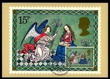 GB UK MK 1979 WEIHNACHTEN CHRISTMAS NOËL NAVIDAD NATALE MAXIMUMKARTE MC CM /m939