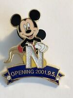 JDS Nagoya Grand Opening Pin Set Mickey Disney Pin LE (B9)