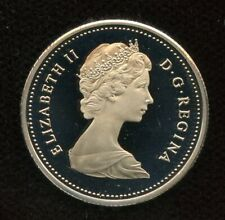 1985 Canada 25 cents Proof Quarter from Mint Set UHCameo