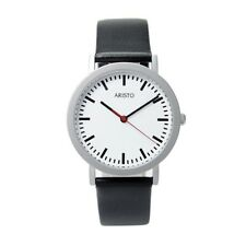 ARISTO 3H03, train station watch, quartz