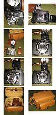 Kodak cámara retinette ia de los 1950. años con accesorios-estado de funcionamiento