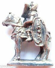 Roman Soldier Flag Bearer of the Praetorian Cavalry in Solid English Pewter *